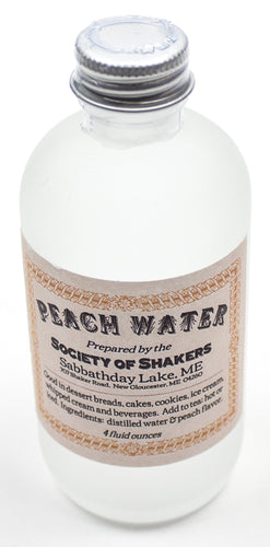Shaker Peach Water - Sabbathday Lake Shakers
