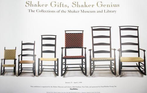 Shaker Gifts, Shaker Genius: The Collections of the Shaker Museum and Library Poster
