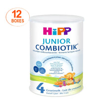 Load image into Gallery viewer, HiPP Dutch Stage 4 COMBIOTIK Junior Toddler Milk Formula - 12 Boxes