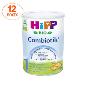 HiPP Dutch Stage 1 Organic Bio Combiotic Infant Milk Formula - 12 Boxes