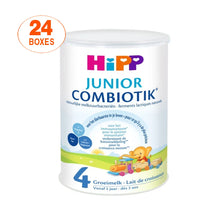 Load image into Gallery viewer, HiPP Dutch Stage 4 COMBIOTIK Junior Toddler Milk Formula - 24 Boxes