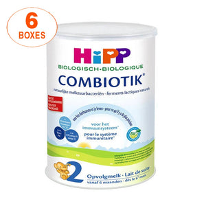 HiPP Dutch Stage 2 Organic Bio Combiotic Follow-on Milk Formula - 6 Boxes