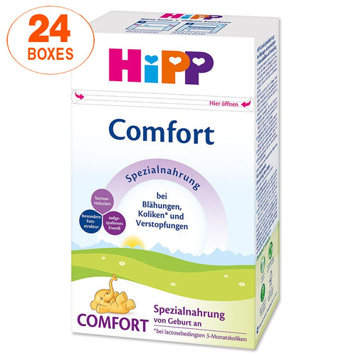 HiPP Comfort Infant Formula Milk (500g) – German Version 24 BOXES