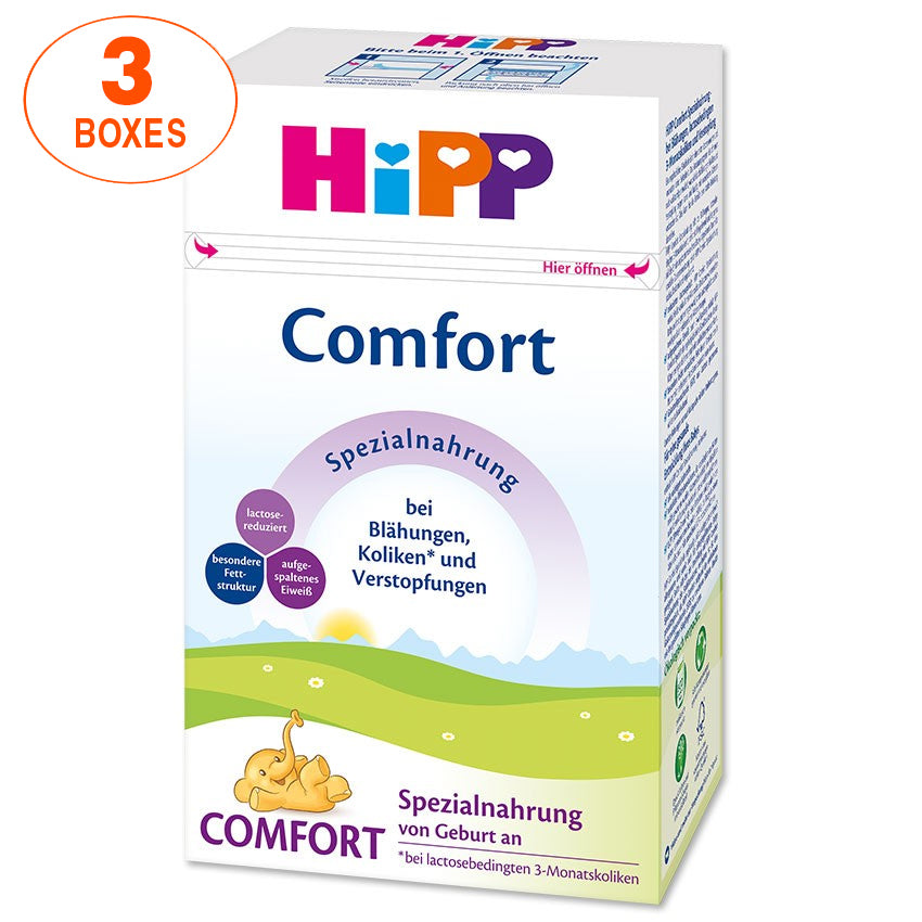 HiPP Comfort Infant Formula Milk (500g) – German Version 3 BOXES