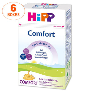 HiPP Comfort Infant Formula Milk (500g) – German Version 6 BOXES