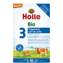 Load image into Gallery viewer, Holle Cow Stage 3 Organic (Bio) Baby Milk Formula (600g), 1 Box