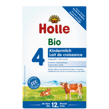 Load image into Gallery viewer, Holle Cow Stage 4 Organic (Bio) Toddler Milk Formula (600g), 1 Box