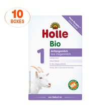Load image into Gallery viewer, Holle Goat Stage 1 Organic (Bio) Infant Milk Formula (400g), 10 Boxes