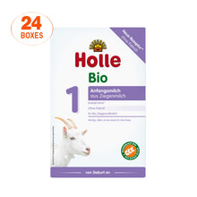 Load image into Gallery viewer, Holle Goat Stage 1 Organic (Bio) Infant Milk Formula (400g), 24 Boxes