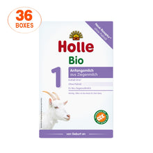 Load image into Gallery viewer, Holle Goat Stage 1 Organic (Bio) Infant Milk Formula (400g), 36 Boxes