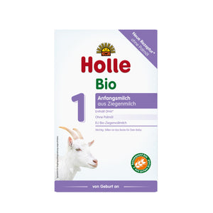 Holle Goat Stage 1 Organic (Bio) Infant Milk Formula (400g), 1 Box