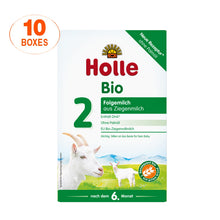 Load image into Gallery viewer, Holle Goat Stage 2 Organic (Bio) Follow-on Infant Milk Formula (400g), 10 Boxes