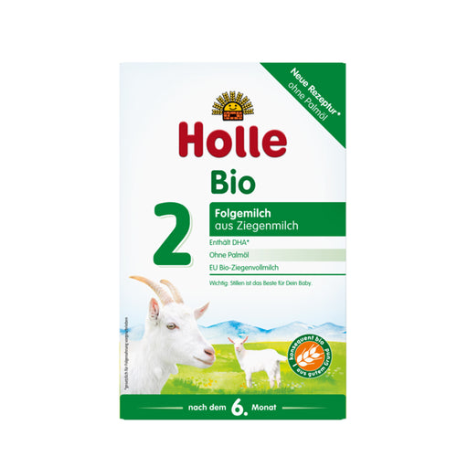 Holle Goat Stage 2 Organic (Bio) Follow-on Infant Milk Formula (400g), 1 Box