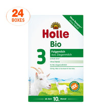 Load image into Gallery viewer, Holle Goat Stage 3 Organic (Bio) Baby Milk Formula (400g), 24 Boxes