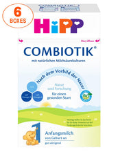 Load image into Gallery viewer, HiPP Stage 1 Organic (Bio) Combiotic Infant Milk Formula (600g) - German Version 6 BOXES