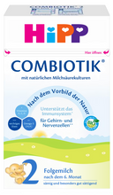 Load image into Gallery viewer, HiPP Stage 2 Organic (Bio) Combiotic Infant Milk Formula (600g) - German Version 1 BOXES