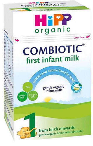 HiPP Stage 1 Combiotic First Infant Milk Formula UK (800g) - 3 Boxes