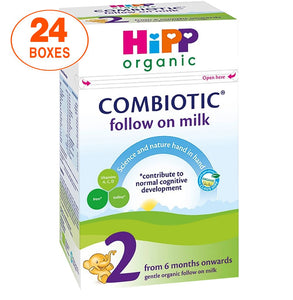 HiPP Stage 2 Combiotic Follow-on Infant Milk Formula (800g) - UK Version, 24 Boxes