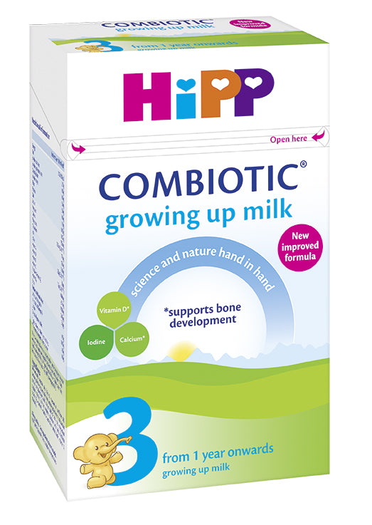 HiPP Stage 3 Combiotic Growing Up Baby Milk Formula (600g) - UK Version