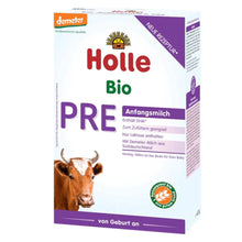 Load image into Gallery viewer, Holle Cow Stage PRE Organic (Bio) Infant Milk Formula (400g), 1 Box