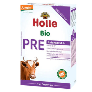 Holle Cow Stage PRE Organic (Bio) Infant Milk Formula (400g), 1 Box