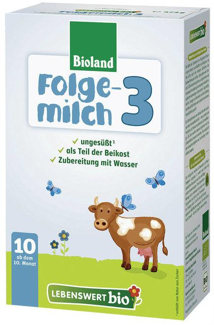 Lebenswert Stage 3 Organic (Bio) Infant Milk Formula (475g), 1 BOX