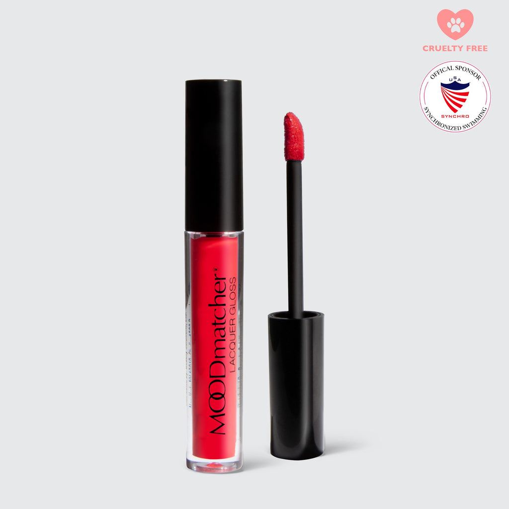 MOODmatcher Lacquer Gloss Lip Gloss FranWilson REBEL RED