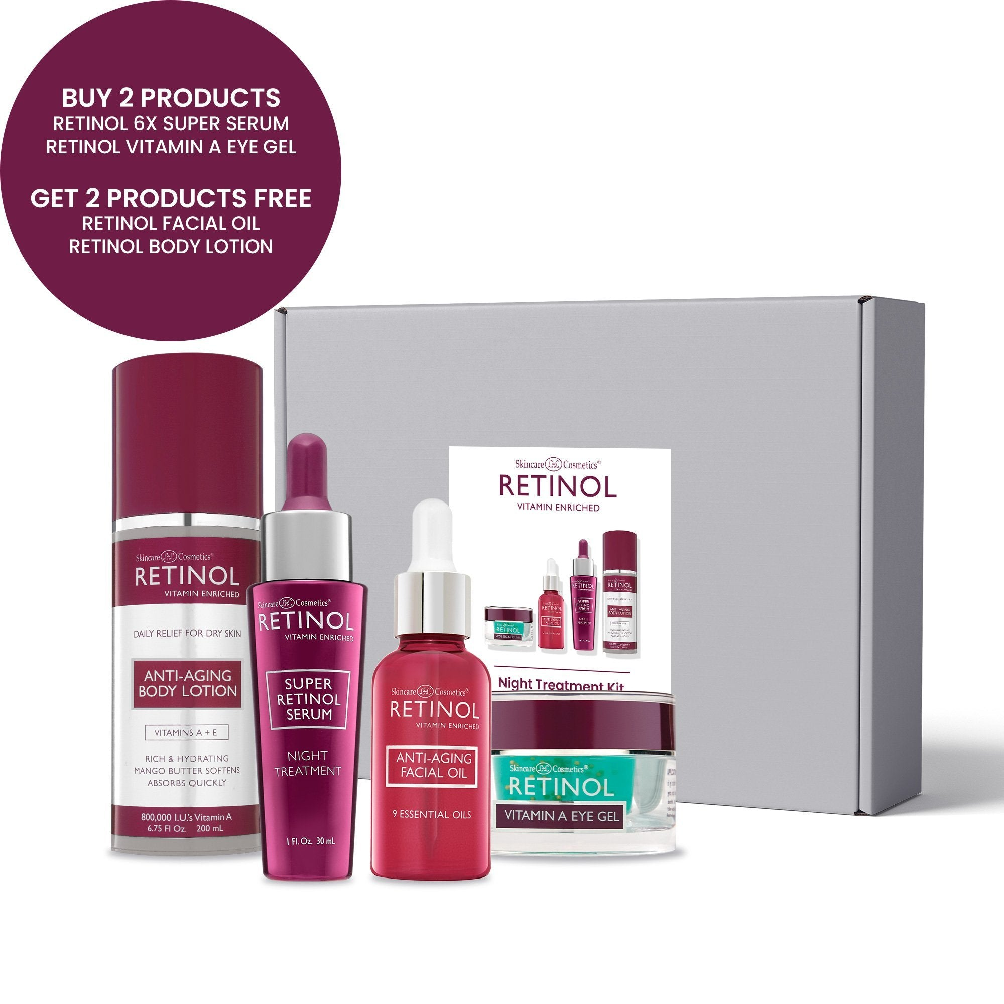 Retinol Night Treatment Kit ($104 value) - Fran Wilson