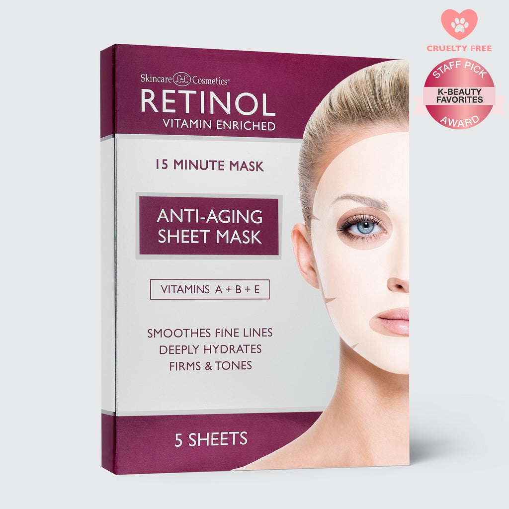 Retinol Sheet Mask (5 Treatments) - FranWilson
