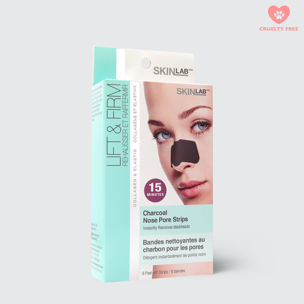 SkinLab Lift & Firm Charcoal Nose Pore Strips - FranWilson