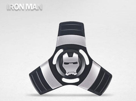 Image of Avengers SuperHero Iron Man Captain America Spiderman alloy Finger Spinner Fidget For AutismADHD Anxiety Stress Relief Focus EDC Hand Spinner Wholesale China Supplier