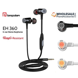 china wholsale supplier factory langsdom earphones EH360 distributor cheap price
