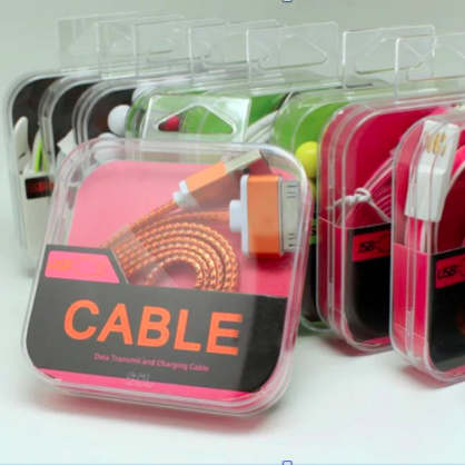 Image of Retail packaging for bulk usb cable phone accessories