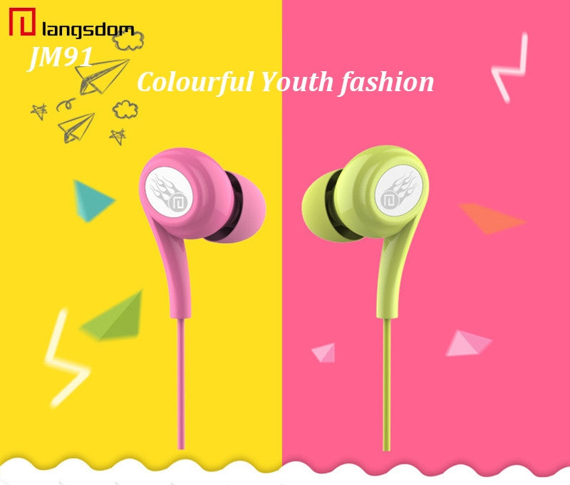 wholesale factory china supplier langsdom earphones jd91 cheap price ditributor