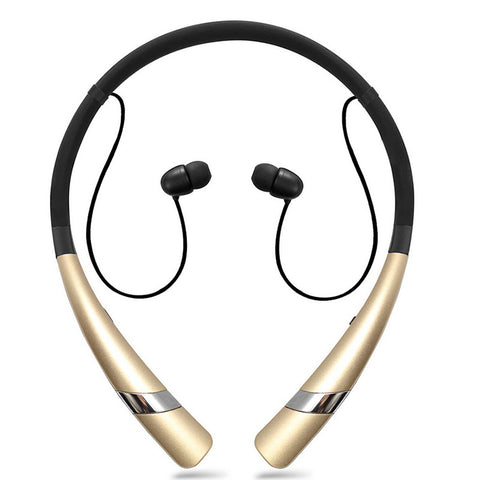 Image of Hung Bluetooth headset HV-960 Bluetooth Earphone  Wireless Headphone Neckband Headsets Sport Sweatproof Earbuds for Bluetooth Devices