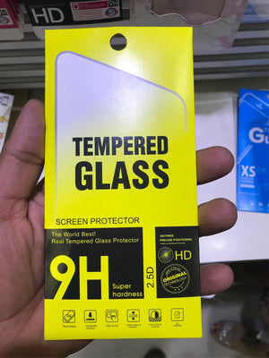 Paper packaging for tempered glass screen protector