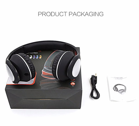 Image of BT-990 Headband Bluetooth Wireless Headphone Stereo Foldable Adjustable Length Voice Prompt Cheap China