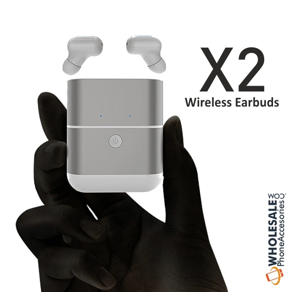 China Supplier Mini In-Ear TWS X2 Wireless Earphones Cheap Price Wholesale USA Distributor Factory Bulk Lots  Manufacturer