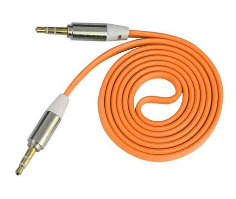 Image of factory supplier of cheap 3.5mm aux audio cables high quality custom oem