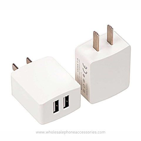 Image of China Supplier Private model CCC certification 2A Fast charge dual USB GB Travel Charger Fast Charger Factory Direct  Cheap Price  Wholesale USA Distributor Factory Bulk Lots  Manufacturer