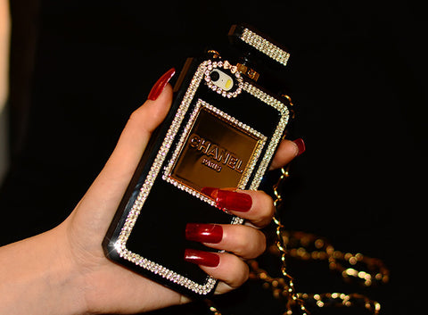 Image of Perfume Bottle Phone case with chain