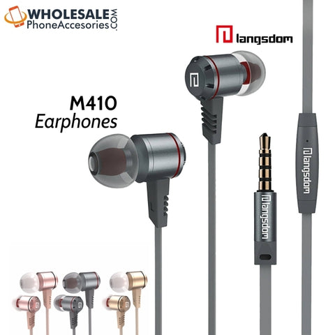 wholesale china supplier factory langsdom earphones m410 cheap price distributor