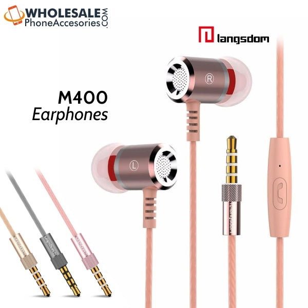 Wholesale langsdom earphones m400 CHina Factory Supplier CHeap Price