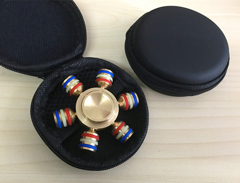New China High End Fidget Toy Anti Stress Fidget Spinner toy Hand Spinner EDC Tri-Spinner Fidgets Toy KidsAdult Decompression toy Easy To Carry,Small,Simple,Discrete and Bulk