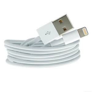 cheap white usb charger caber for iphone 7 6 5 china supplier