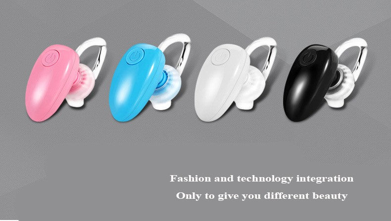 5Colors Small Earphone Bluetooth One-to-two D6 Mini Stereo wireless Bluetooth Headset Headphone with Microphone