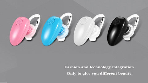 Image of 5Colors Small Earphone Bluetooth One-to-two D6 Mini Stereo wireless Bluetooth Headset Headphone with Microphone