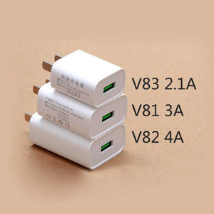 V82 5V 4A Fast Charging Home Travel Wall Adapter