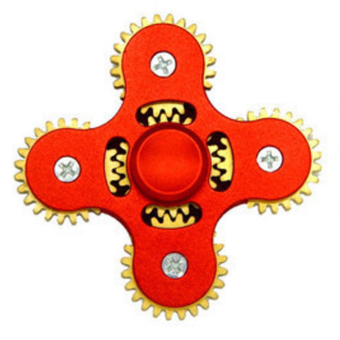 Image of 5 Gear Metal fidget spinner wholesale supplier bulk lots