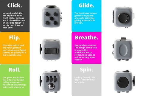China factory Magic fidget cubes